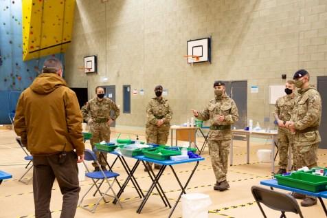 Mass Testing setup with Army-16