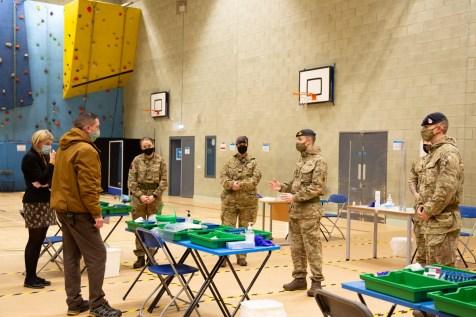 Mass Testing setup with Army-17