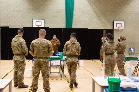 Mass Testing setup with Army-18