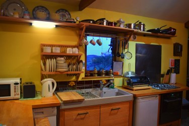 Kitchen in Tappen