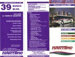 1999 brochure for Route 39 & a January 2000 Transit Guide. Notice the Flxible Metro bus on the Transit Guide. Those buses were in service from the 1980s until 2002, when they were replaced by Gillig Low Floor models. Scan by Orion 2003.