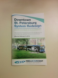 Downtown St. Pete Grid System Informational Booklet.