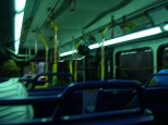 Inside #2610, Route 19, heading towards Tampa General Hospital. Photo taken by HARTride 2012. August, 2009.