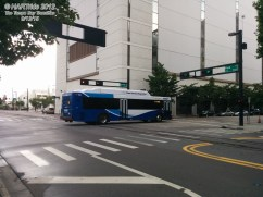 #1522 running down Morgan St in downtown Tampa.