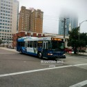 Despite the earlier setback, #2427 is able to complete its run to the Marion Transit Center.