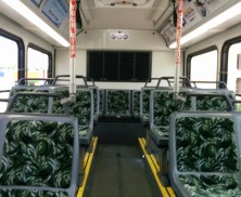 The interior of #1206. Photo Credit: HARTride 2012.