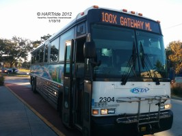 #2304 at the Marion Transit Center.