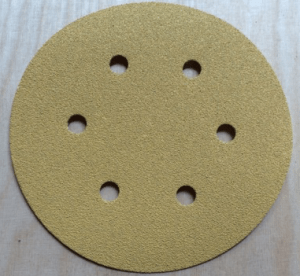 150mm 6 Hole 80 Grit
