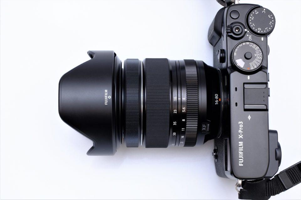 XF16-80mmF4 R OIS WR,サイズ,バランス