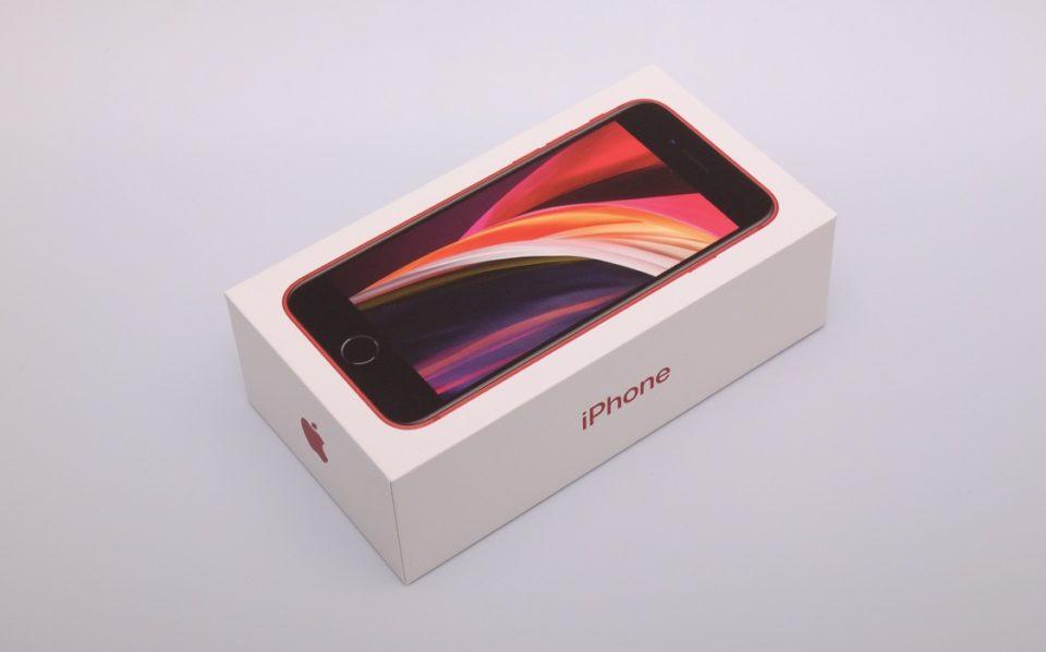 iPhone SE,2020,第2世代,レビュー,開封