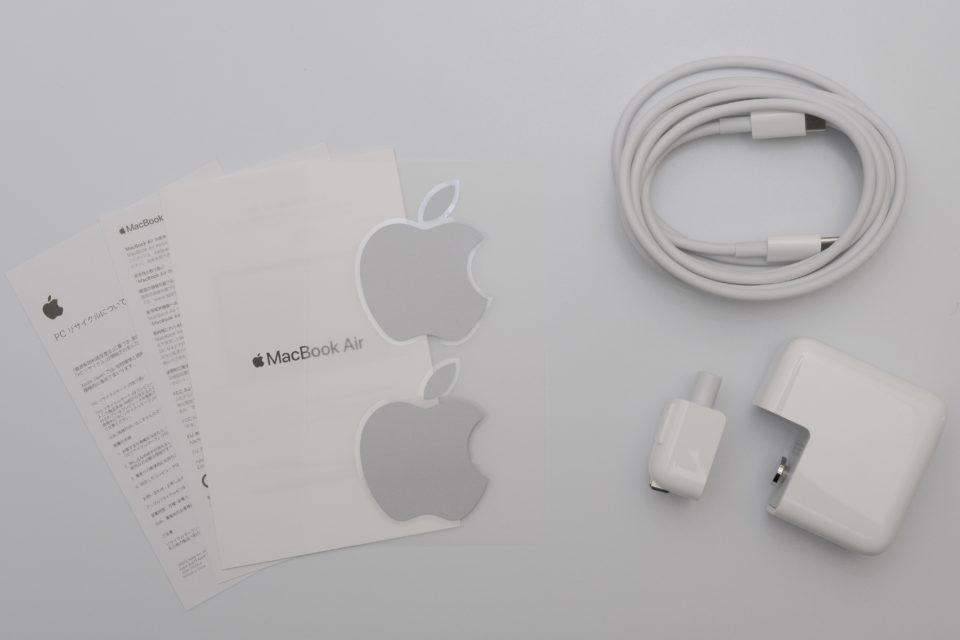 MacBook Air,付属品,オプション,