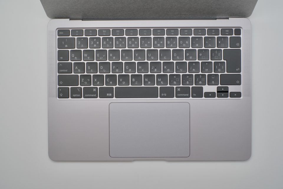 MacBook Air,Early 2020,インターフェース,キーボード,感想