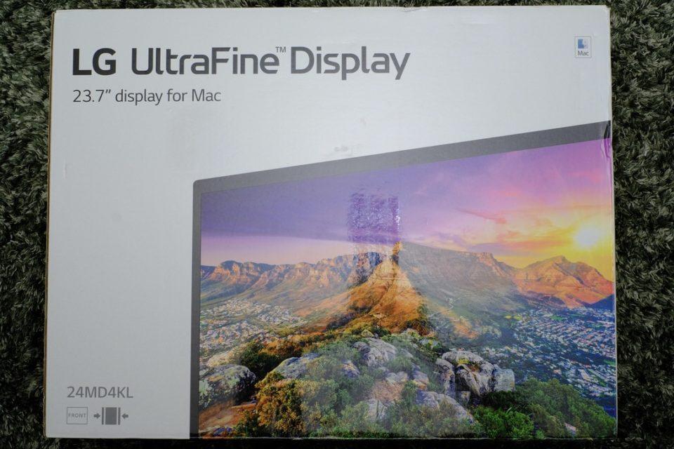 LG UltraFine 4K Display,24MD4KL-B,レビュー,ブログ,感想,購入