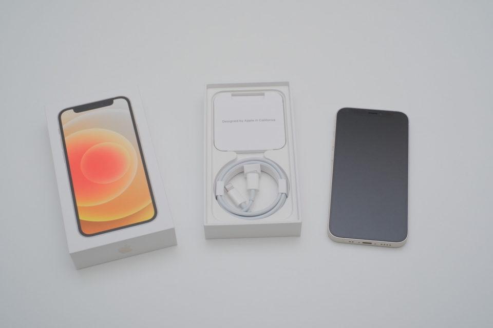 iPhone12 mini,レビュー,開封