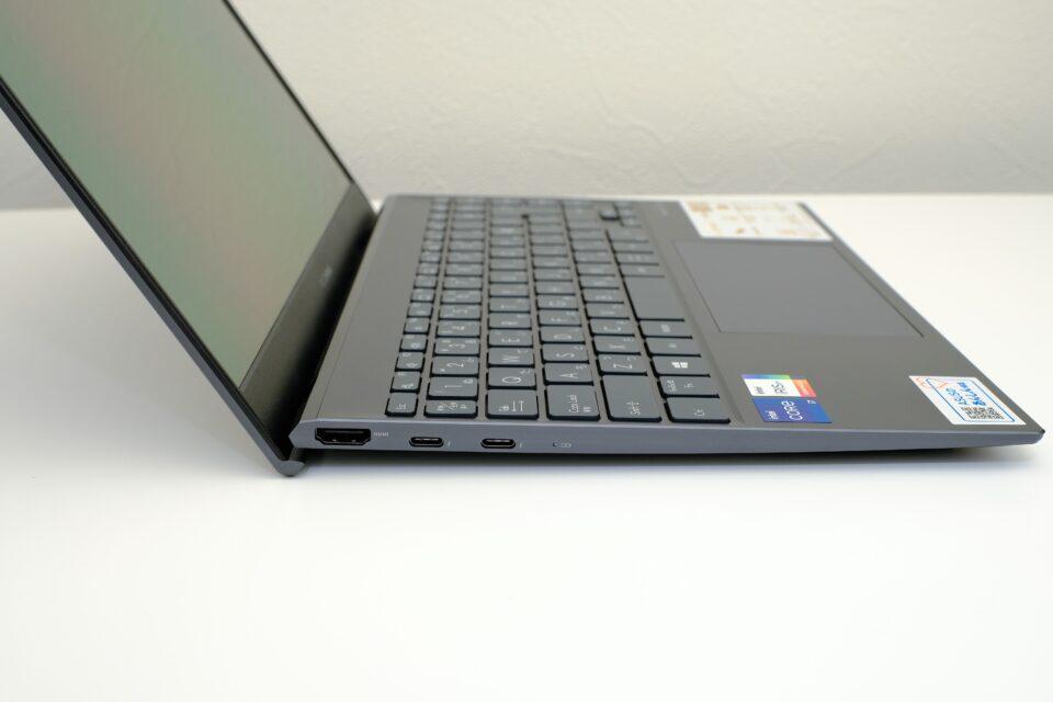 ASUS,ZenBook13,OLED,UX325,レビュー,ブログ,評価,感想,インターフェース