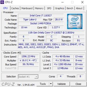 Razer Book 13,RZ09-03571JM1-R3J1,CPU,Core i7-1165G7,性能,ベンチマーク,比較,