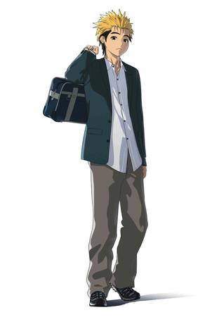 Ajin TV Anime Character design 2