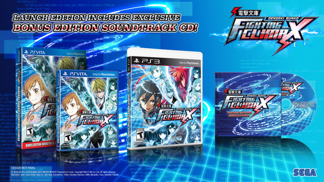 Dengeki Bunko Fighting Climax Slated for October 6 limited launch edition