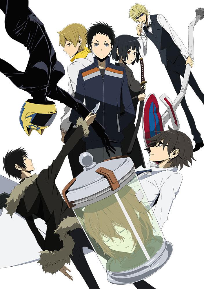 Durarara!!x2 Ketsu anime key visual