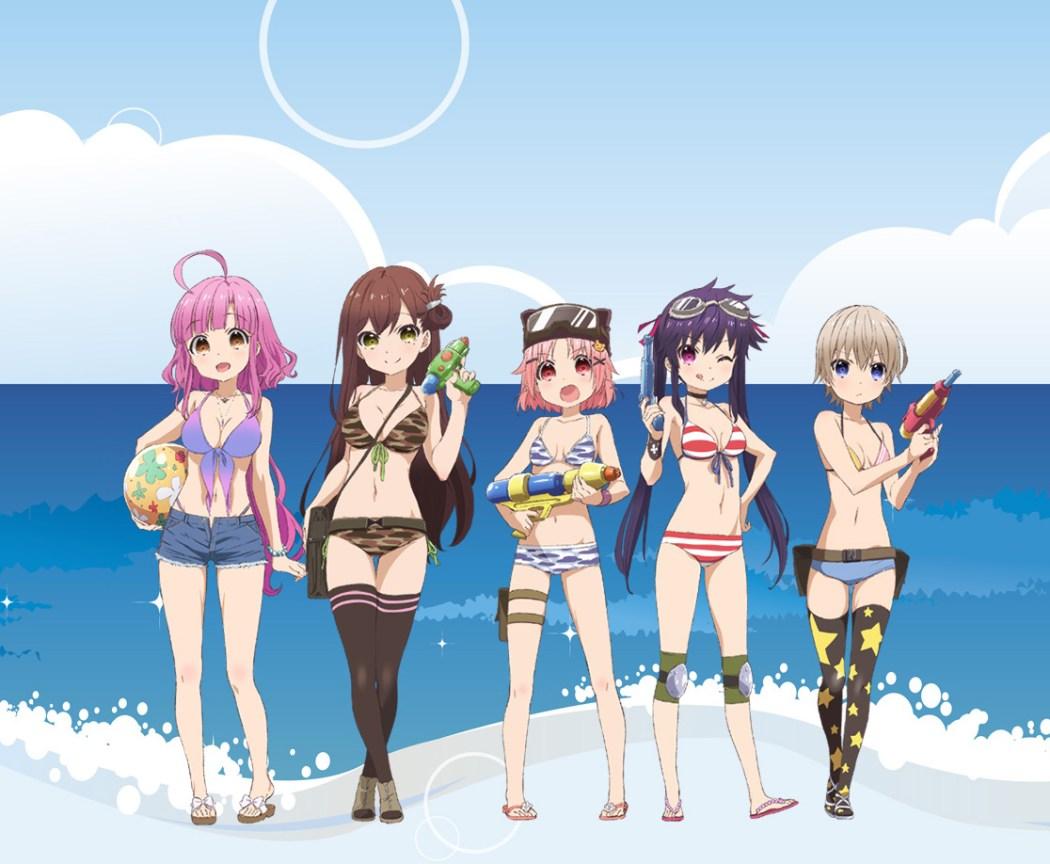 Gakkou Gurashi! Swimwear Illustration Revealed