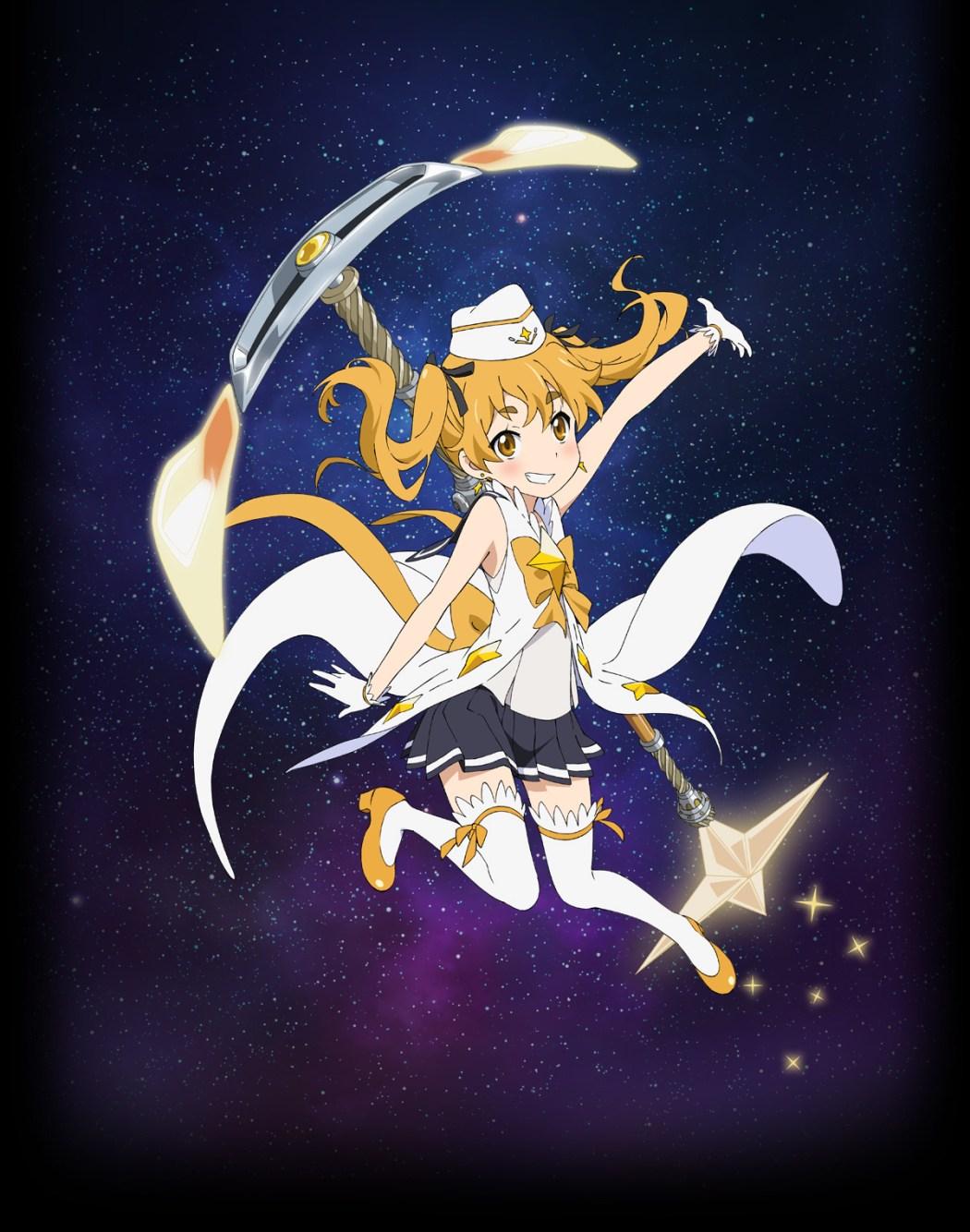 Houkago no Pleiades character design haruhichan.com wish upon the pleiades character design Hikaru