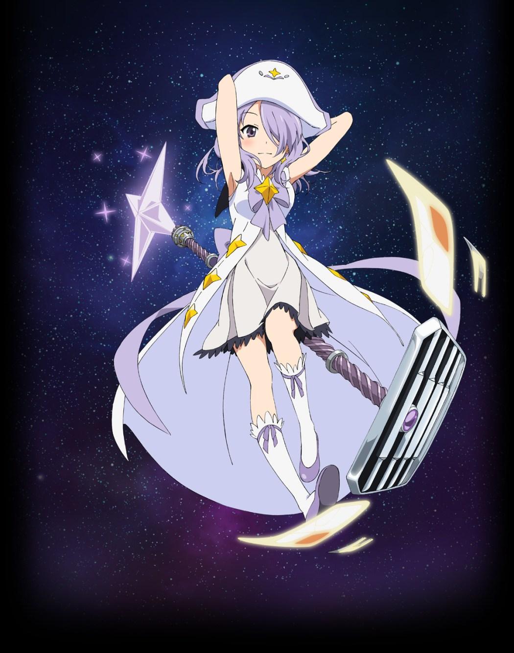 Houkago no Pleiades character design haruhichan.com wish upon the pleiades character design Nanako
