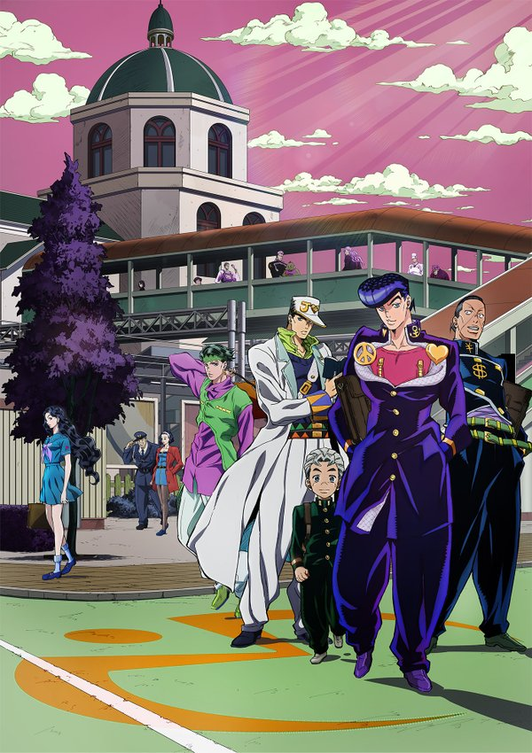 JoJo's Bizarre Adventure Part 4 TV Anime Visual Revealed