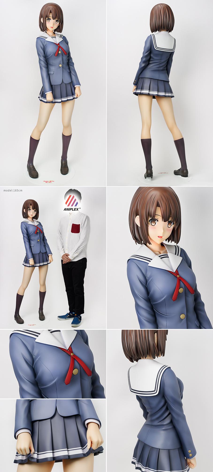 Life-Sized Saekano Megumi Katou Figure 2