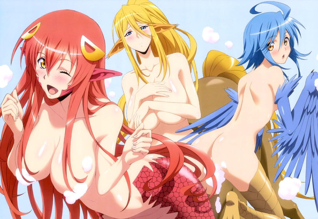 NyanType-Magazine-August-anime-posters monster musume no iru nichijou