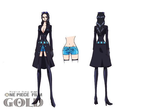 One Piece Film Gold Character Designs 0007