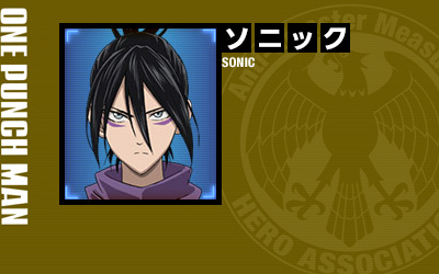 One-Punch-Man-Anime-Character-Design-Speed-of-Sound-Sonic