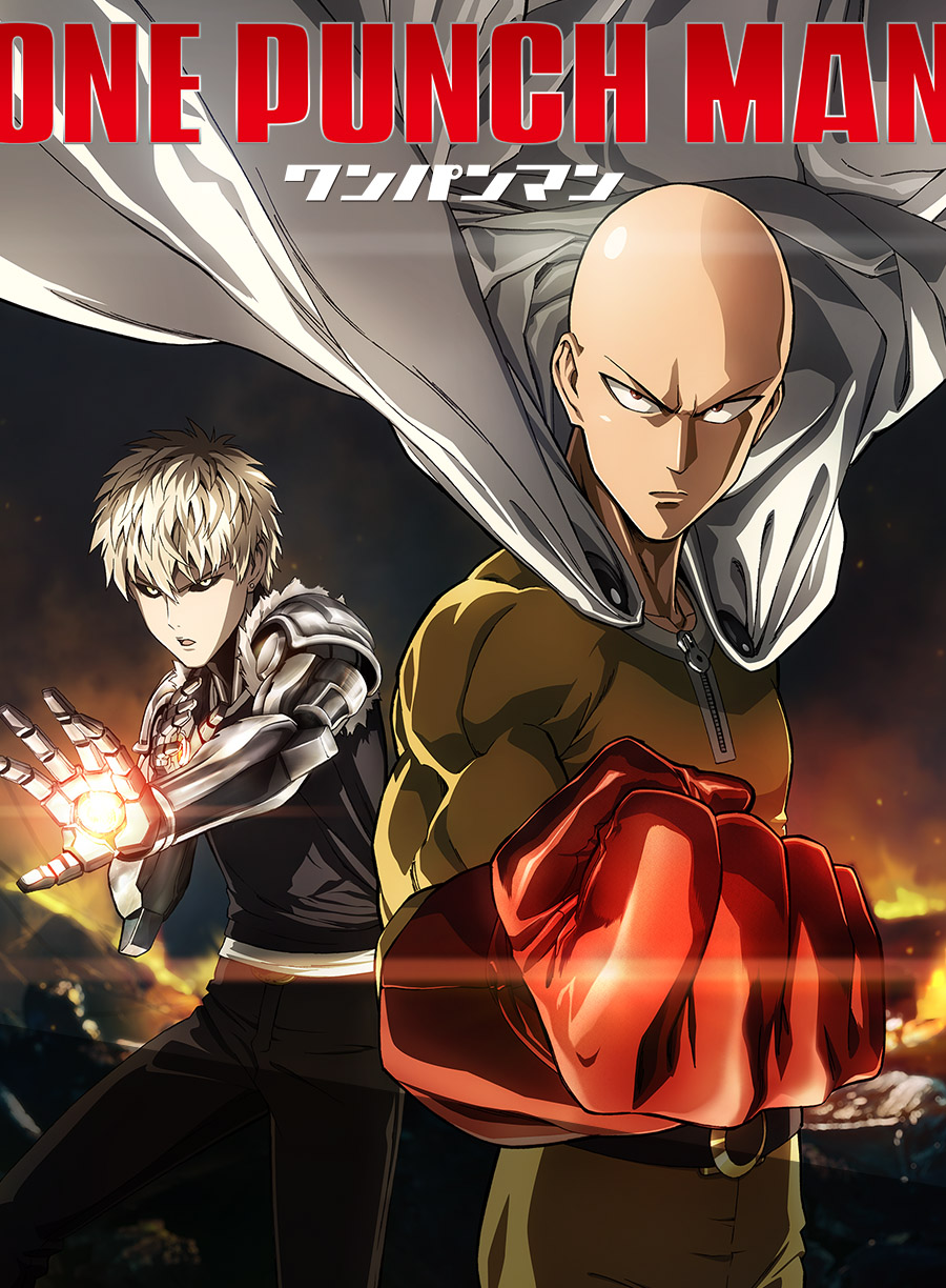 One Punch-Man Anime Visual Revealed haruhichan.com one punch man visual
