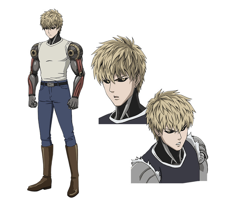 One Punch Man Character Design Genos