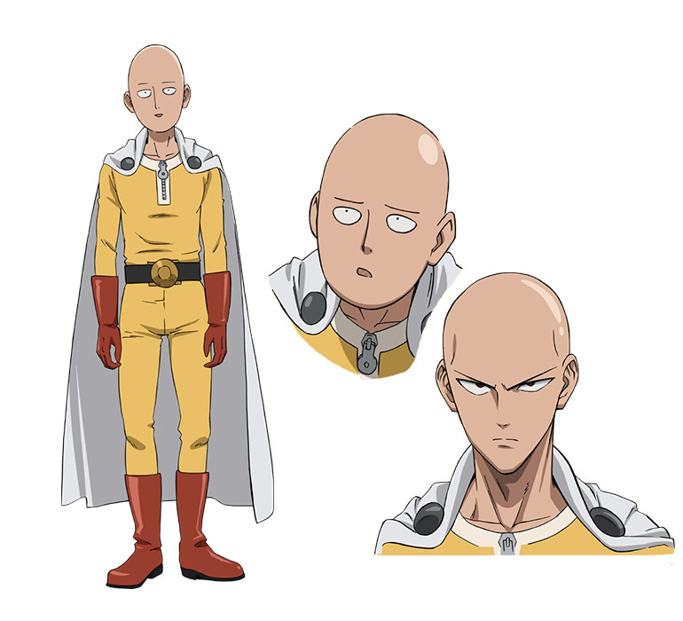 One Punch Man Character Design Saitama
