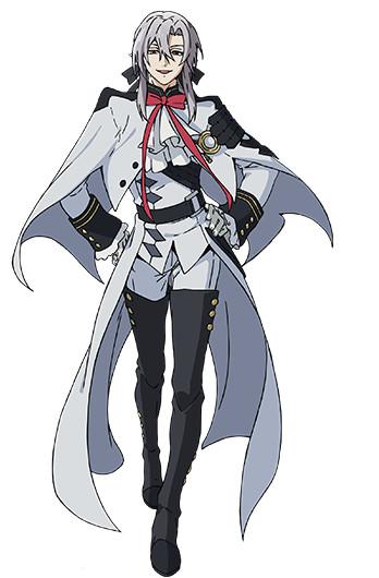 Owari no Seraph Felid Bathory characer design haruhichan.com Seraph of the End Anime