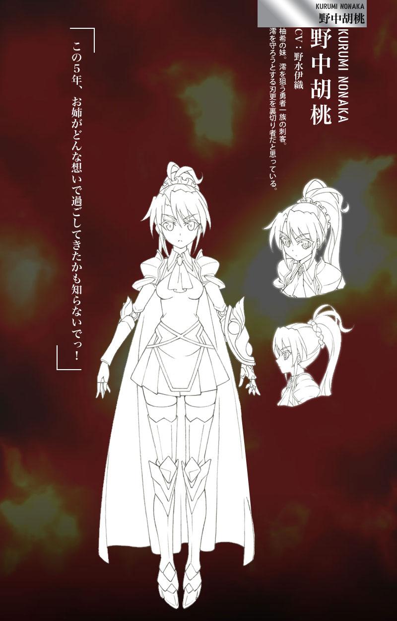Shinmai-Maou-no-Testament_Haruhichan.com Anime-Character-Design-Kurumi-Nonaka