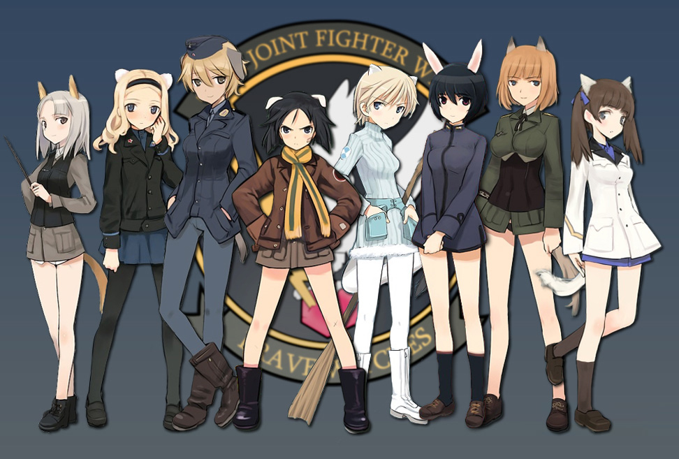 Strike-Witches-502nd-Joint-Fighter-Wing-Characters