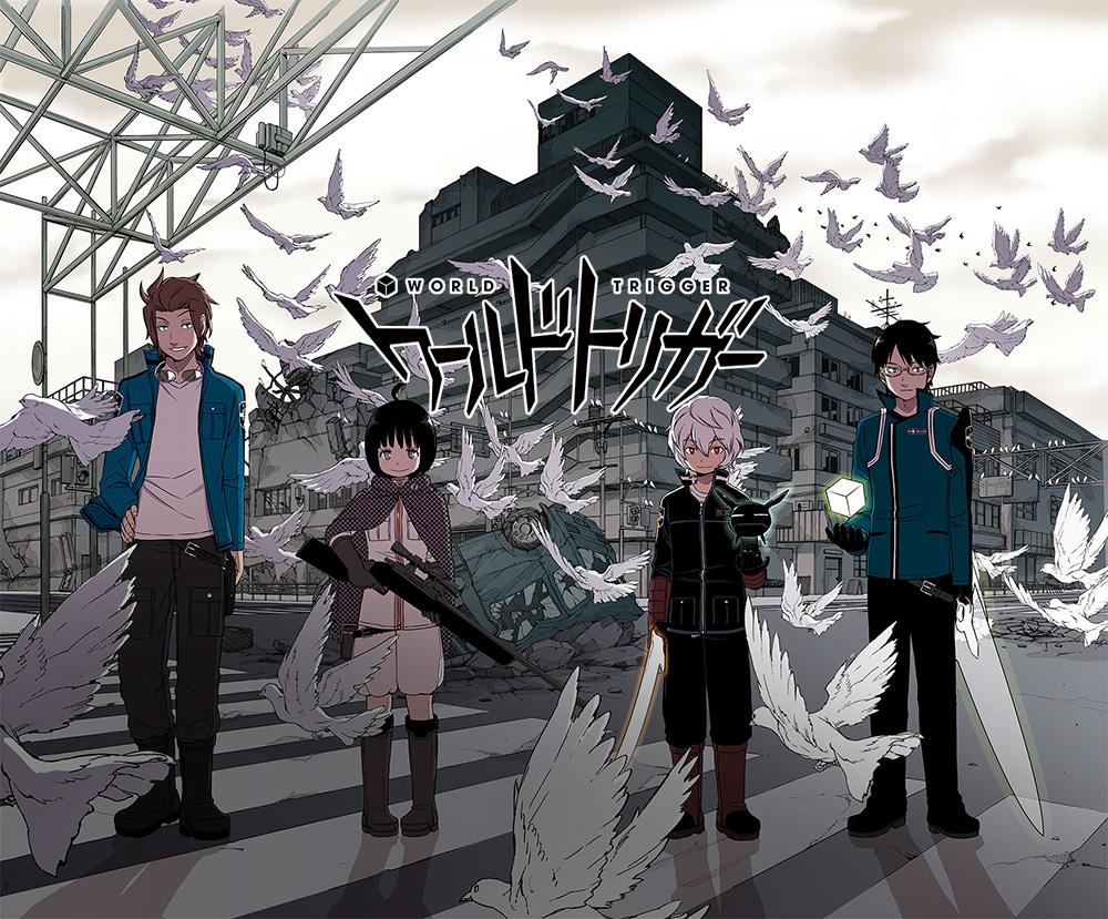 World Trigger Anime Visual World Trigger Cast Announced