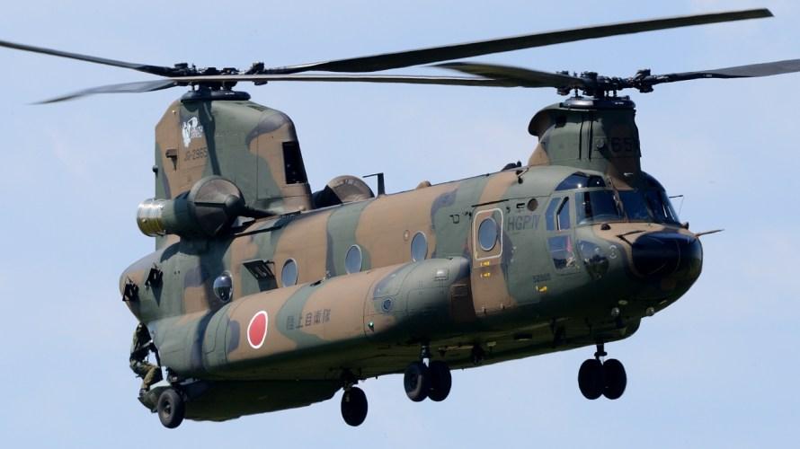 CH-47チヌーク 木更津体験搭乗記
