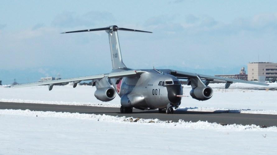 雪レフ入間はレア輸送機勢揃い 入間基地撮影レポート H30.1.25