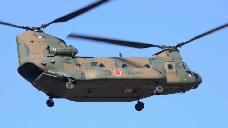 陸自最大の航空部隊。第1ヘリコプター団。