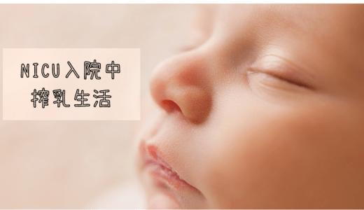 【双子出産】赤ちゃんがNICUに入院中のさく乳生活のこと
