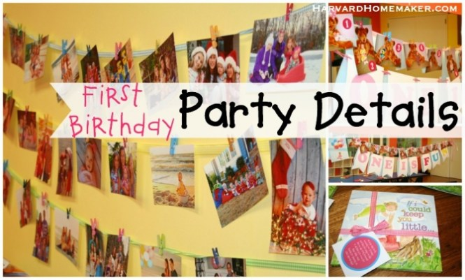 Incredible First Birthday Party Decorations For S In Affordable Article