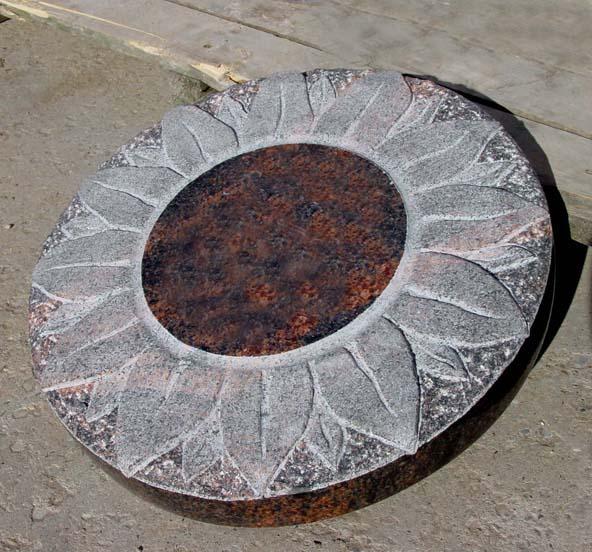 Aurora Graniet gehakte bloem AB083