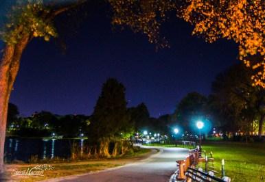 Entering Central Park North