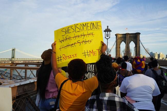 March for Black Women, New York City, 09/30/2018 photo by LaShawnda Jones