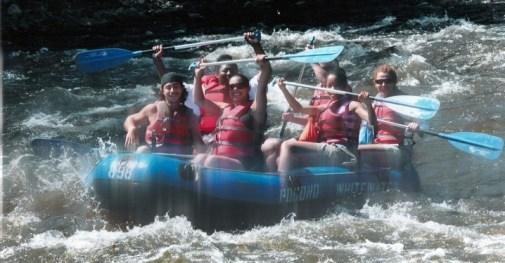 Photo: Whitewater rafting in Pennsylvania