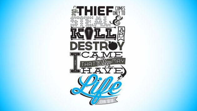 Thief v Jesus purpose