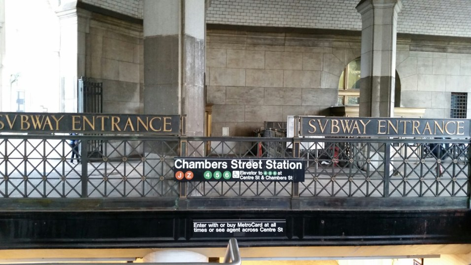 Brooklyn Bridge MTA Station
