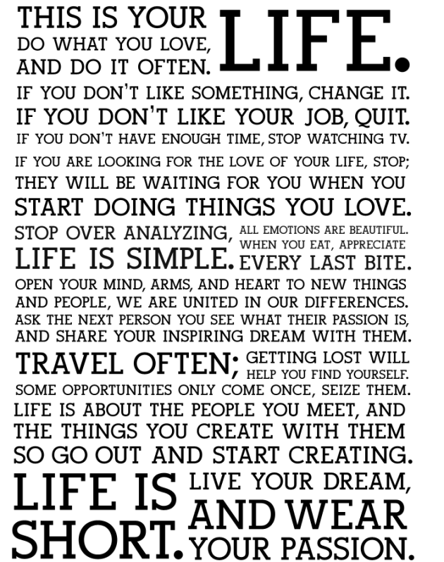 Life-holstee-manifesto